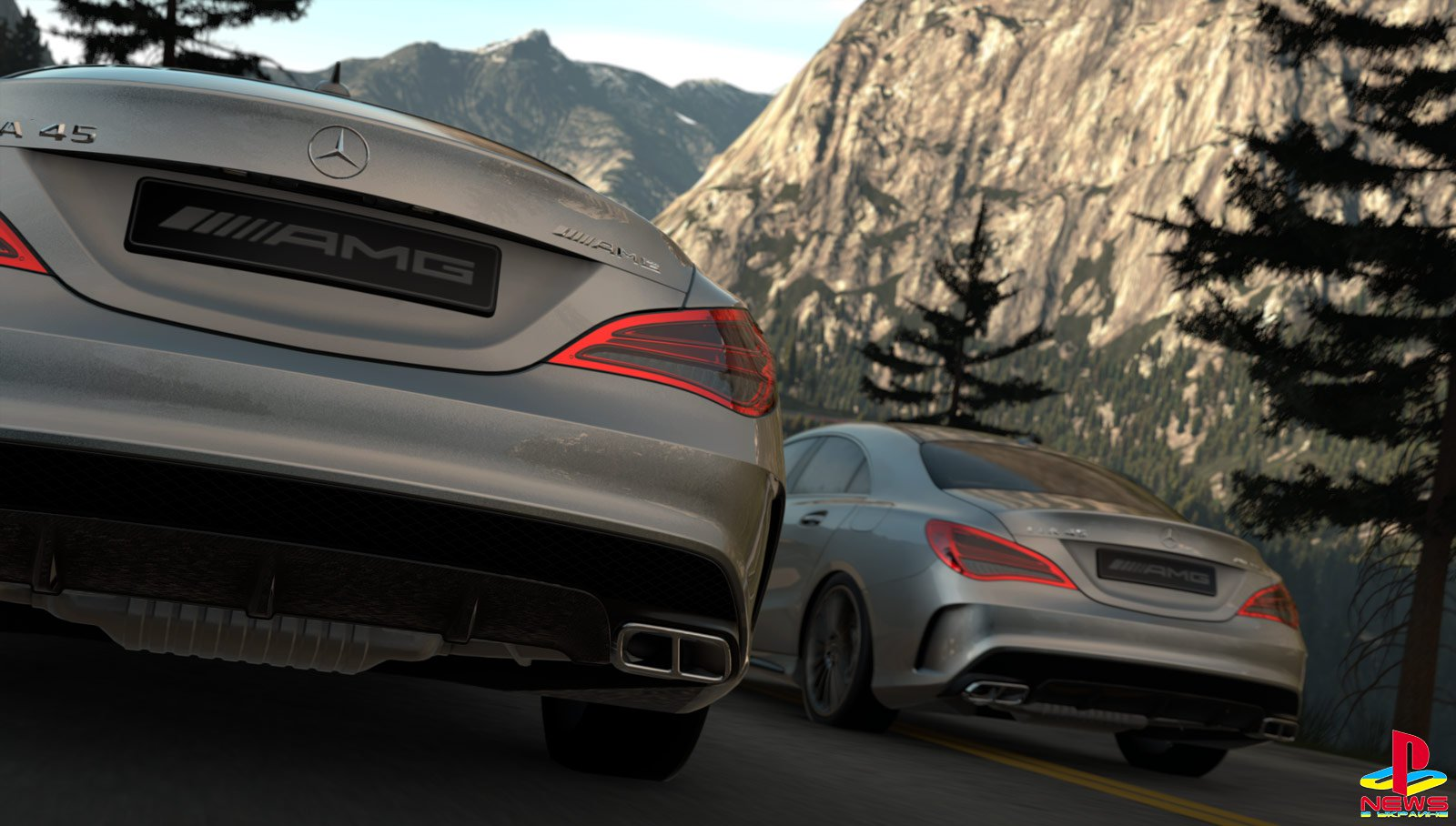 DRIVECLUB - Blu-Ray vs PS+ Edition