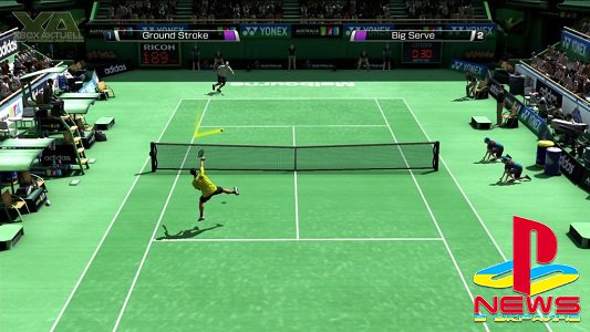 Virtua Tennis 4 трейлер