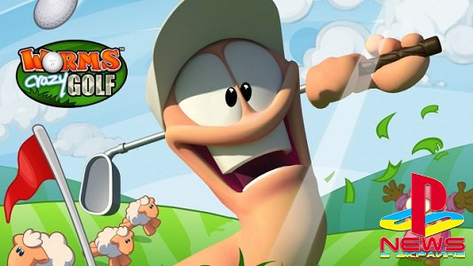 Worms Crazy Golf трейлер