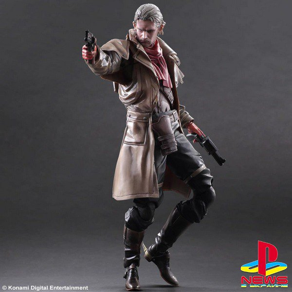 Фигурка Оцелота из Metal Gear Solid V: The Phantom Pain от Play Arts Kai