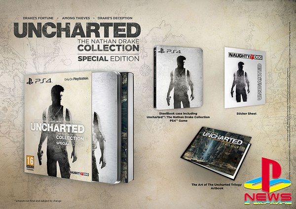 В Европе выйдет Uncharted: The Nathan Drake Collection Special Edition