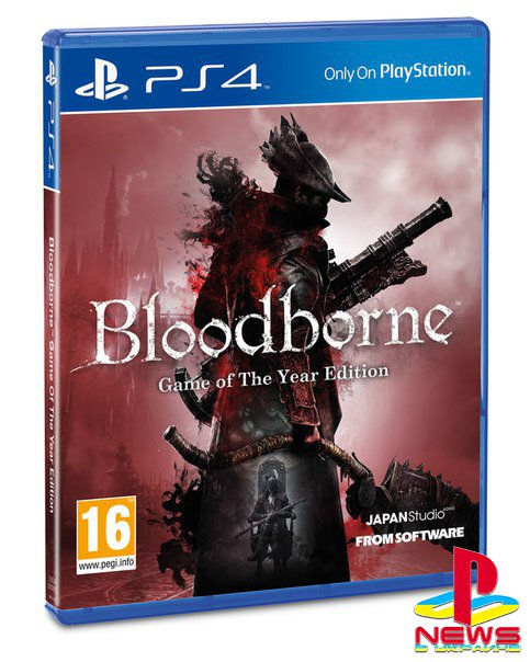 Sony анонсировала Bloodborne: Game of the Year Edition