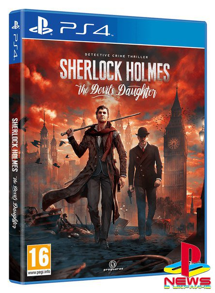 Sherlock Holmes: The Devil's Daughter выйдет в конце мая