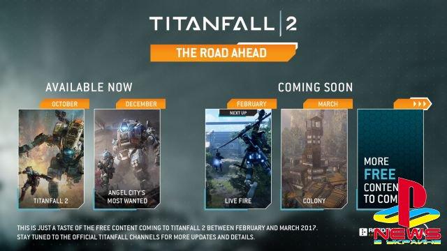 Обновления для Titanfall 2 будут выходить регулярно