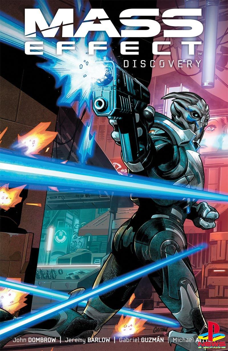 Представлен комикс Discovery по Mass Effect: Andromeda