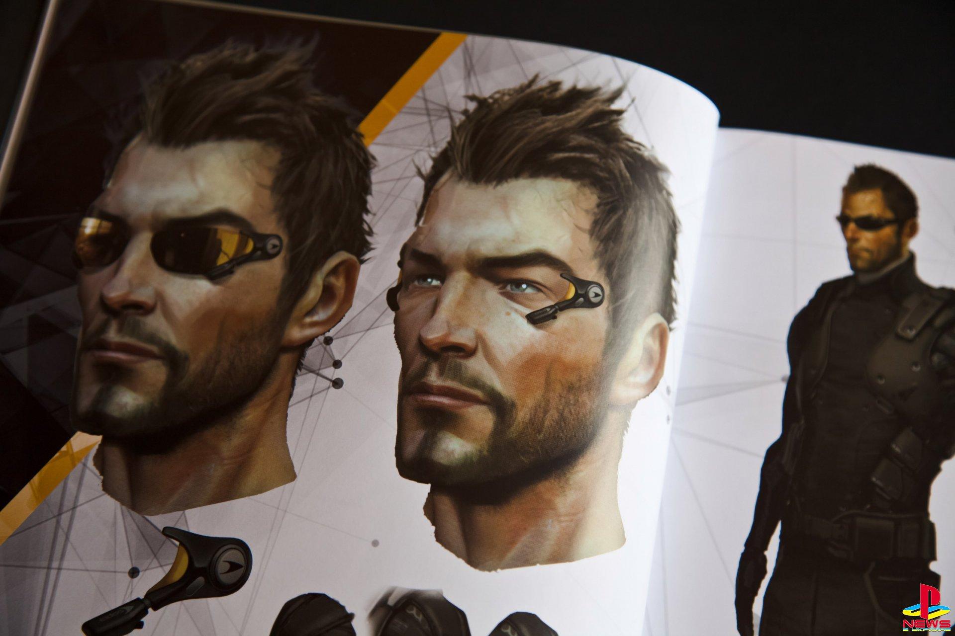 Артбук «Искусство Deus Ex Universe»