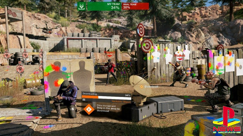 Вышло крупнейшее бесплатное дополнение для Watch Dogs 2