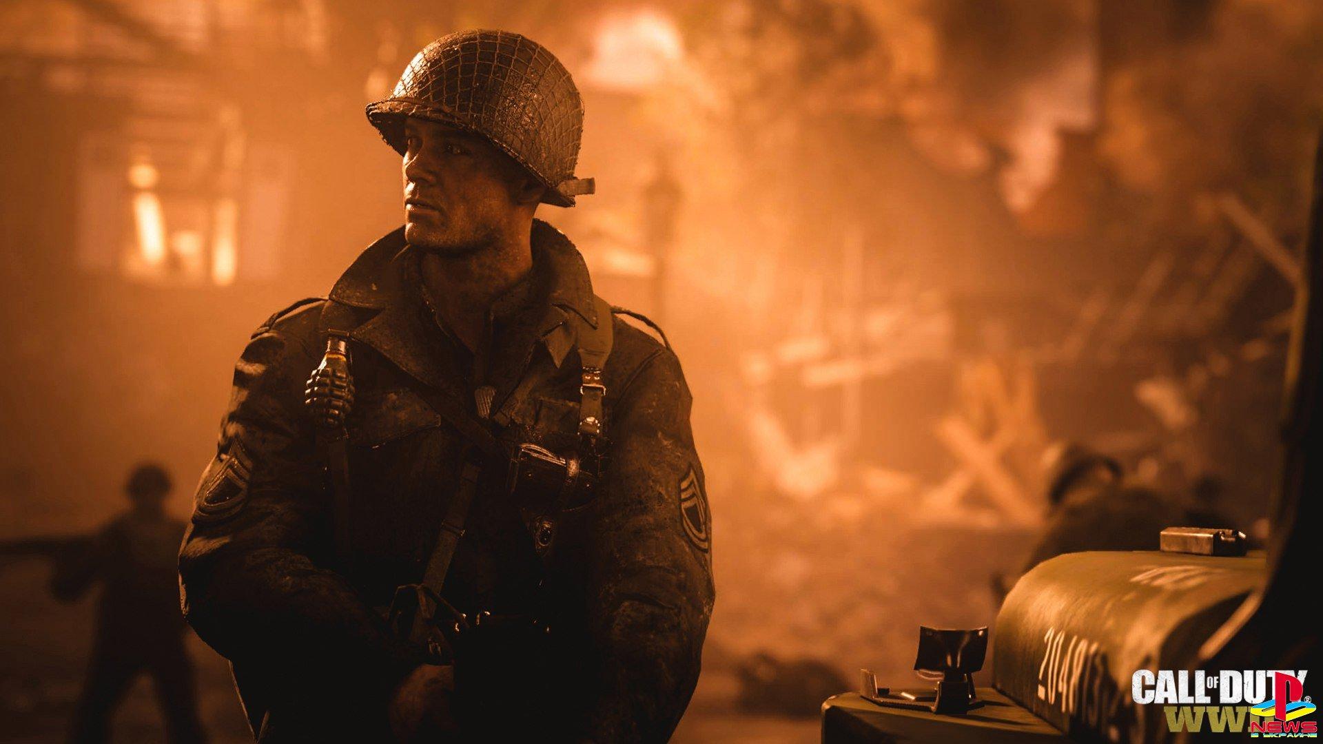 Первые подробности Call of Duty: WWII