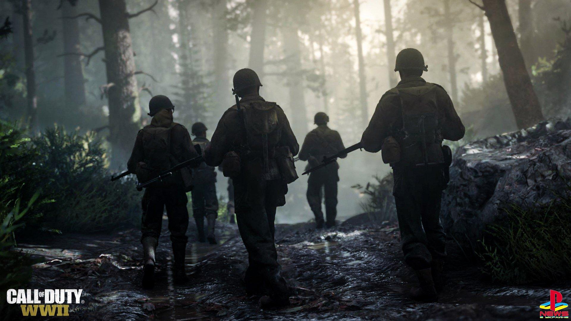 Первые подробности мультиплеера Call of Duty: WWII