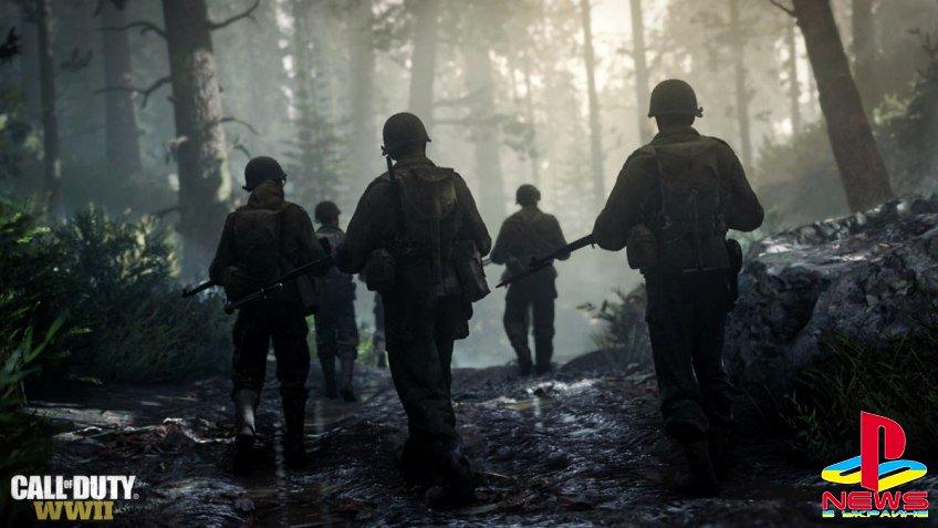 Фракции в мультиплеере Call of Duty: WWII смогут использовать одинаковое ор ...