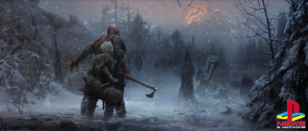 Почему Кратос уехал на Север? Подробности God of War (2018)