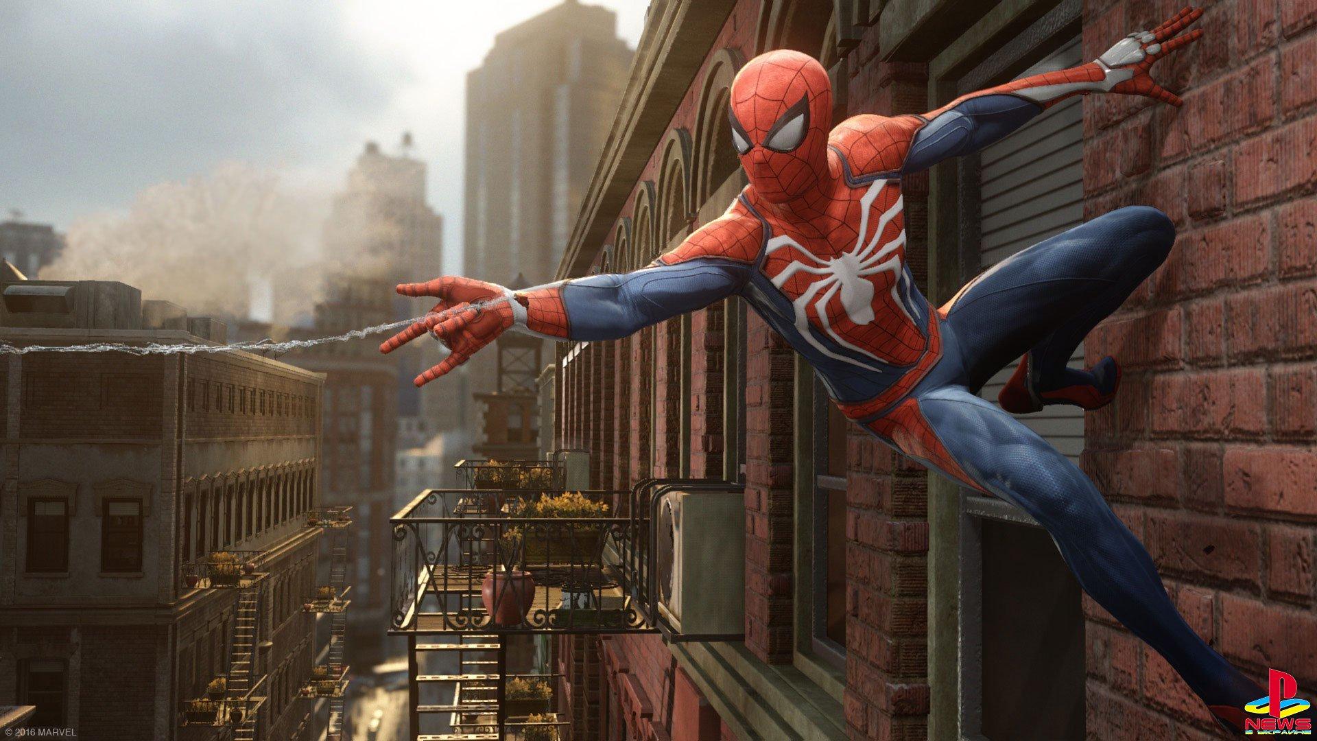 Подробности о мире в PS4-эксклюзиве Spider-Man