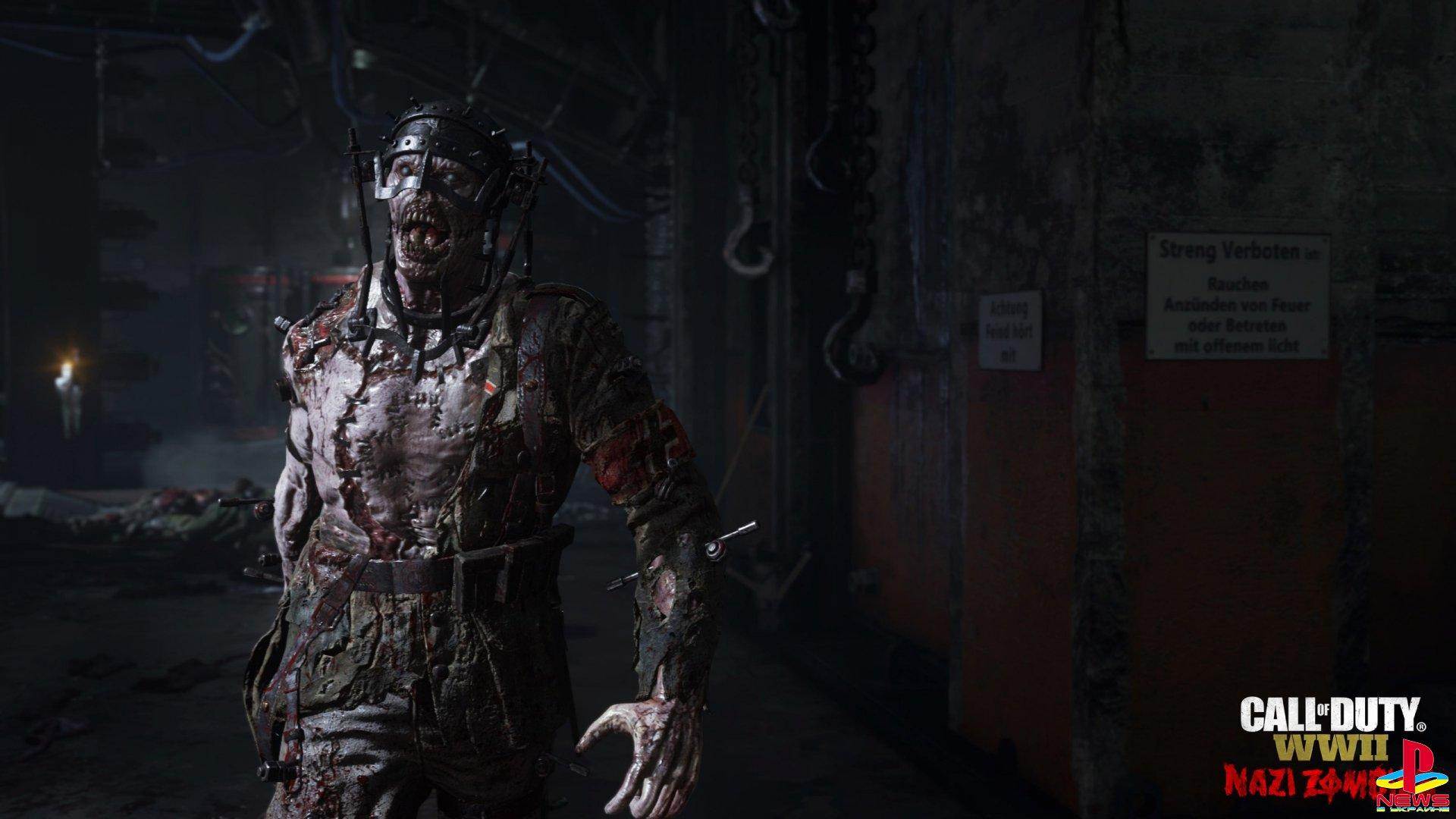 Зомби-режим в Call of Duty: WWII представит самых страш ...