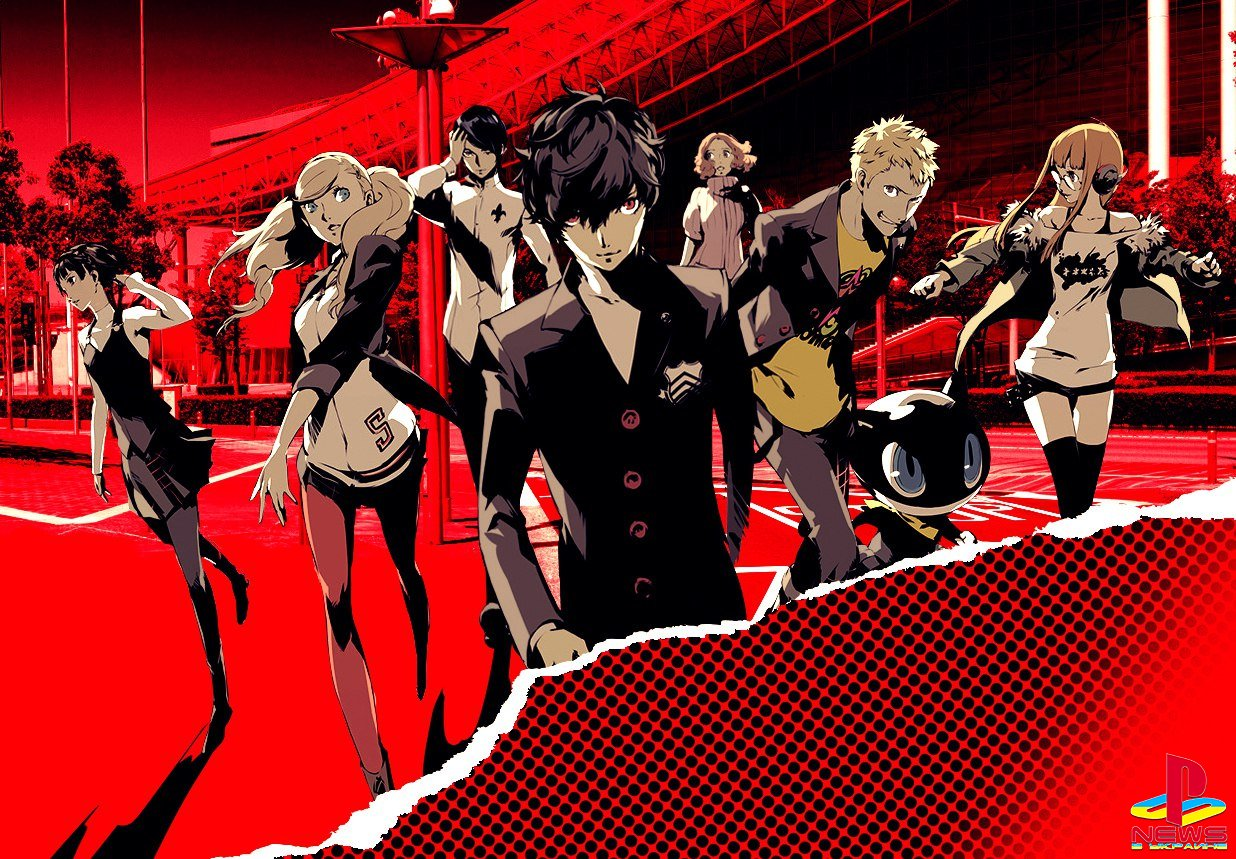 Продажи Persona 5 достигли 1,8 миллиона