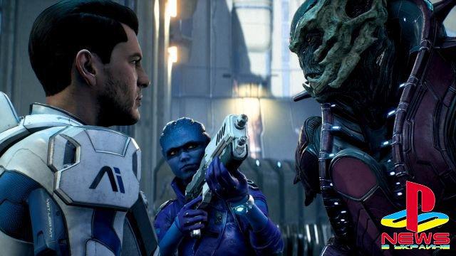 Разработчиков Mass Effect: Andromeda присоединят к студии EA Motive