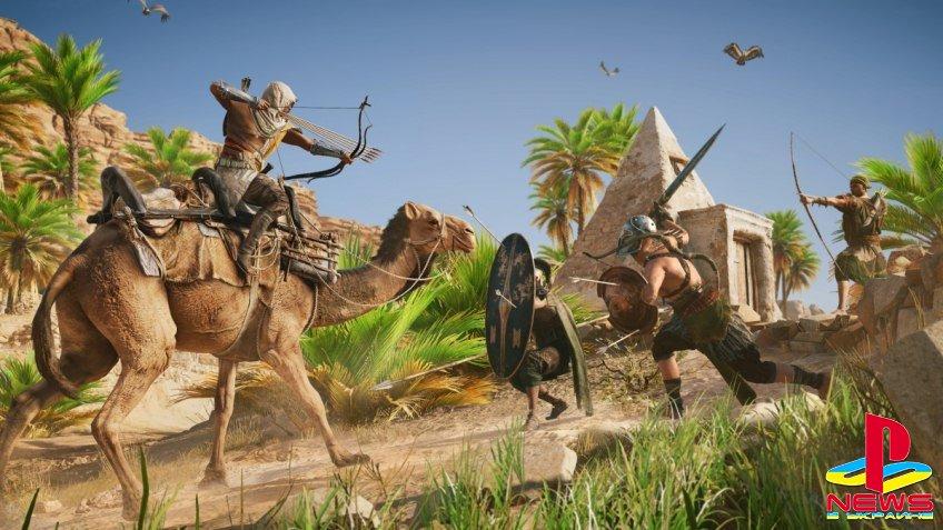 В Assassin's Creed: Origins будет война группировок