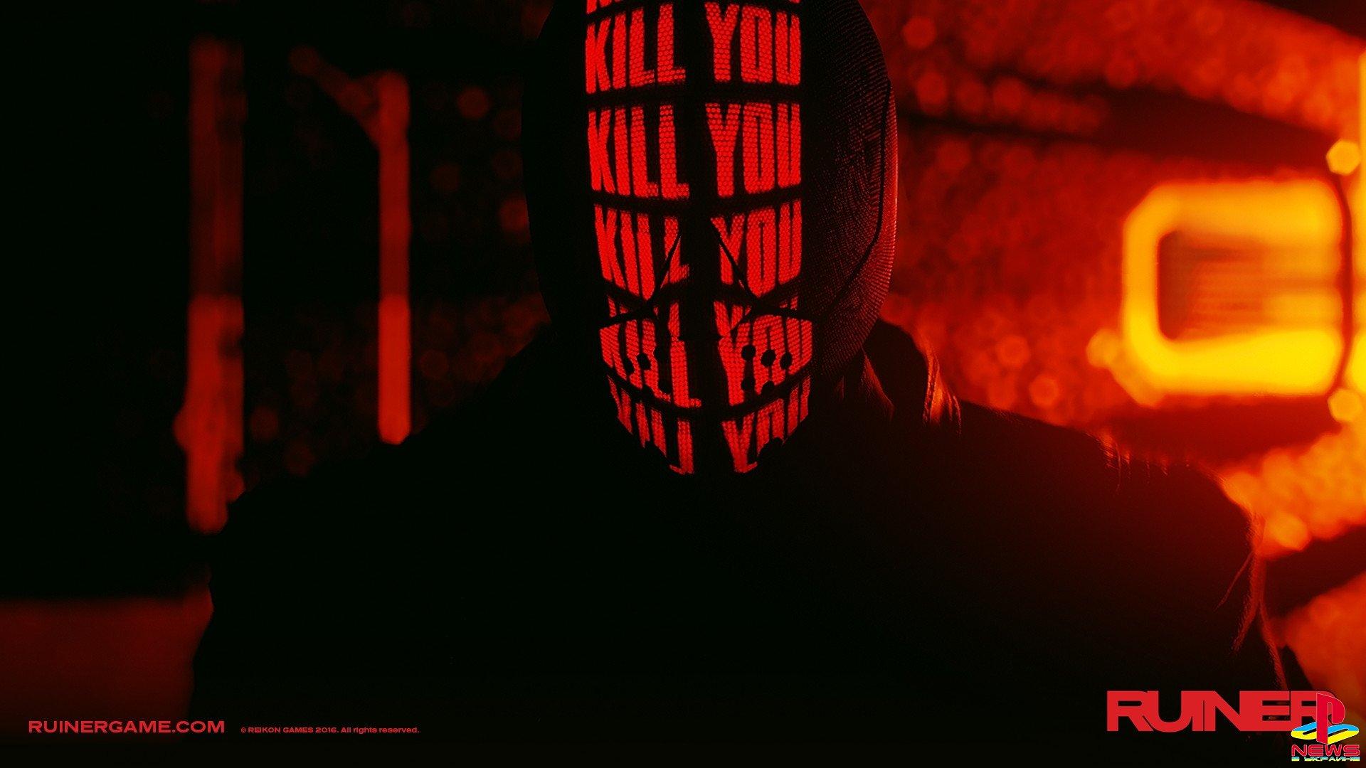 Боевик в стиле киберпанк Ruiner поступит в продажу 26 сентября, новый трейлер