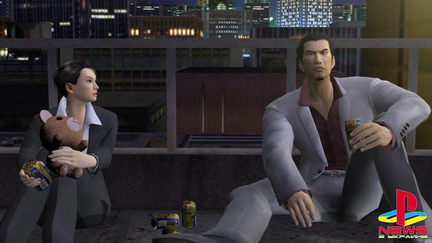 Ремейк Yakuza 2 засветился в PS Store