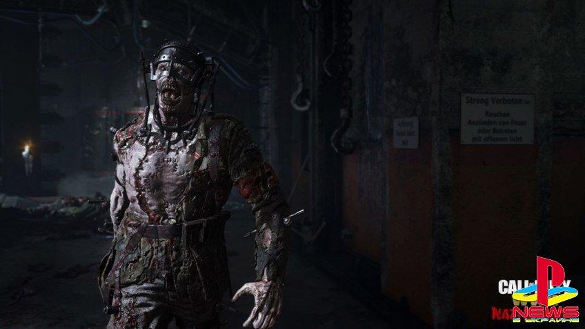 Авторы Call of Duty: WWII поделились новой информацией о зомби-режиме