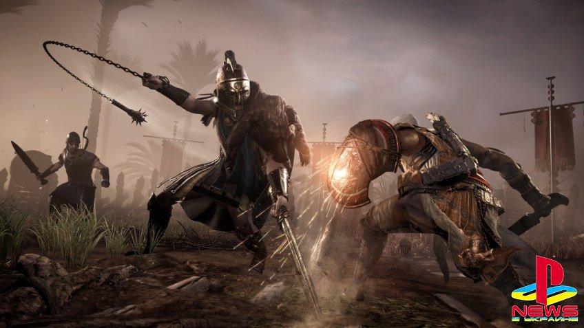 Assassin's Creed: Origins впервые в серии даст возможность выбрать уро ...