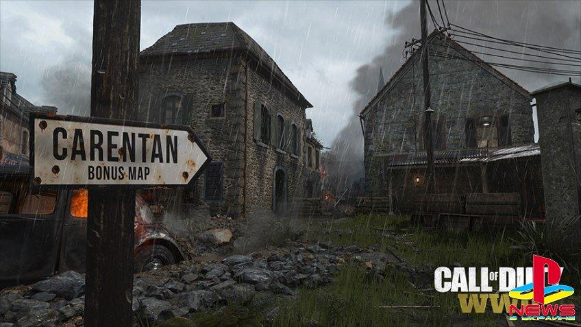 Season Pass для Call of Duty: WWII будет включать бонусную карту из первой CoD