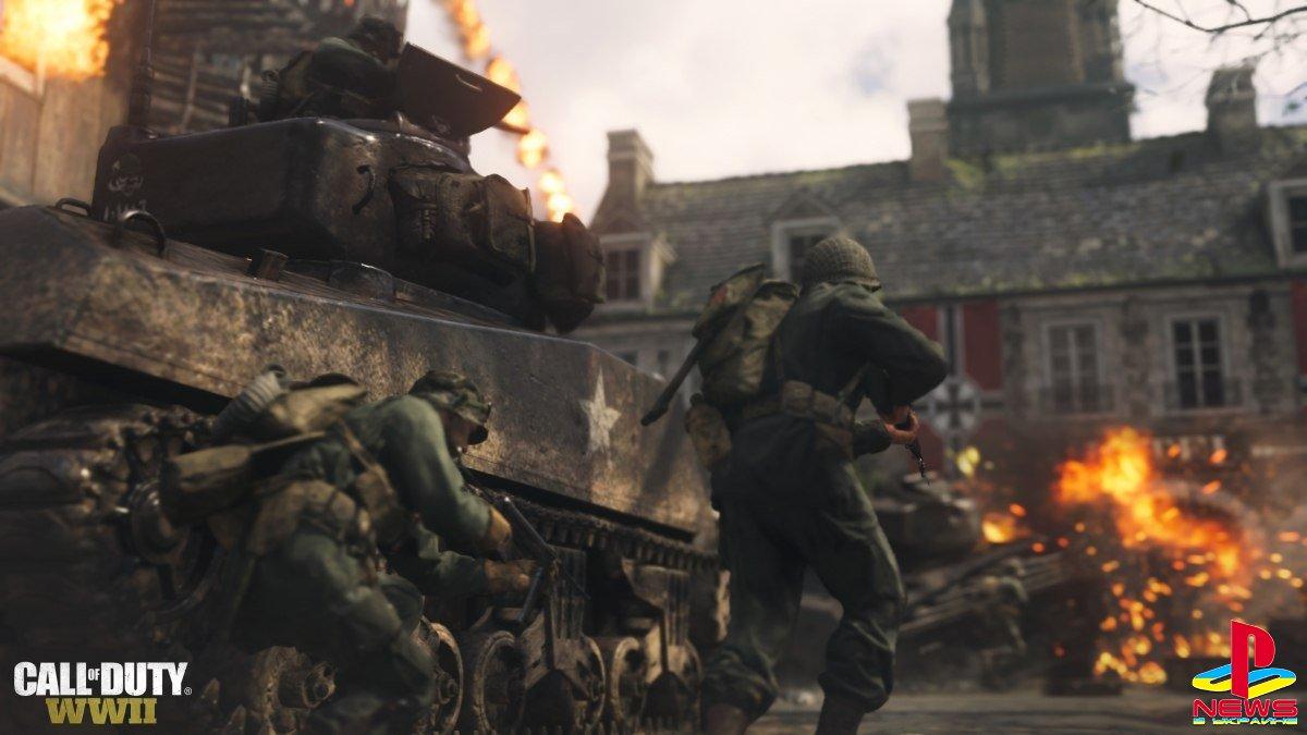 Создатели Call of Duty: WWII представили новый режим и карту