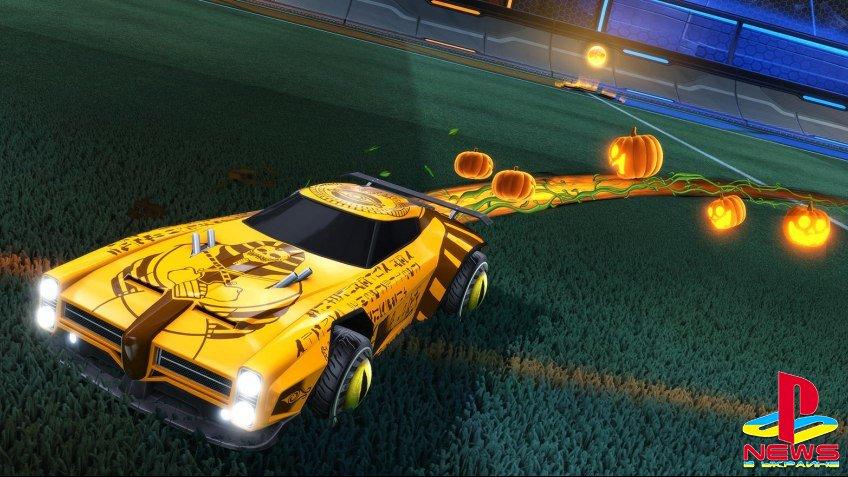 В Rocket League началось празднование Хэллоуина