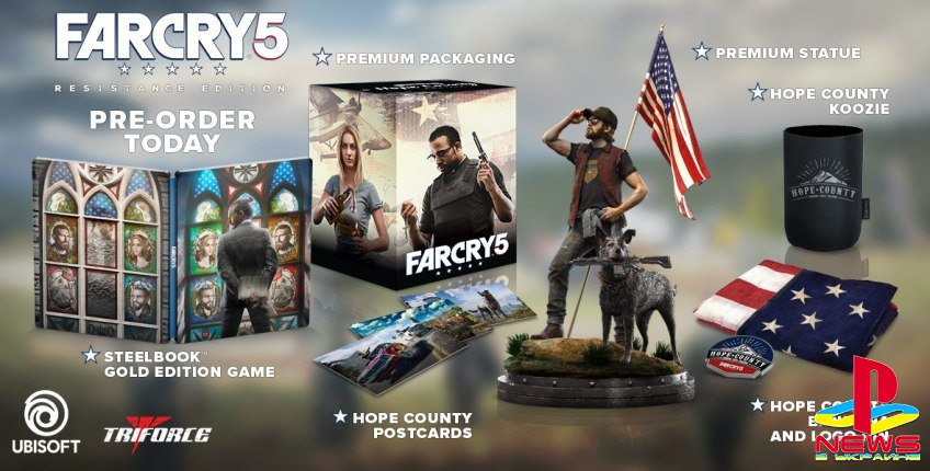 Авторы Far Cry 5 показали коллекционное издание