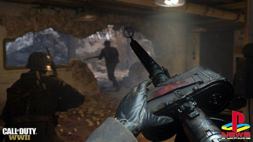 Call of Duty: WWII, возможно, займёт 80 ГБ на PS4