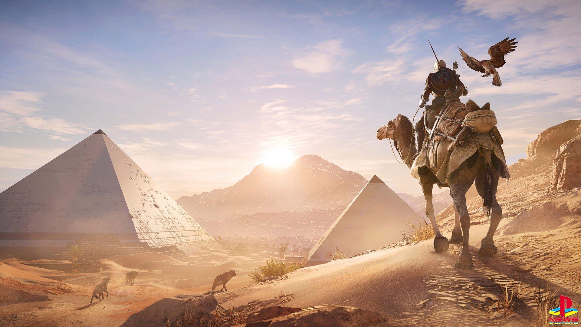 Первые оценки Assassin's Creed Origins