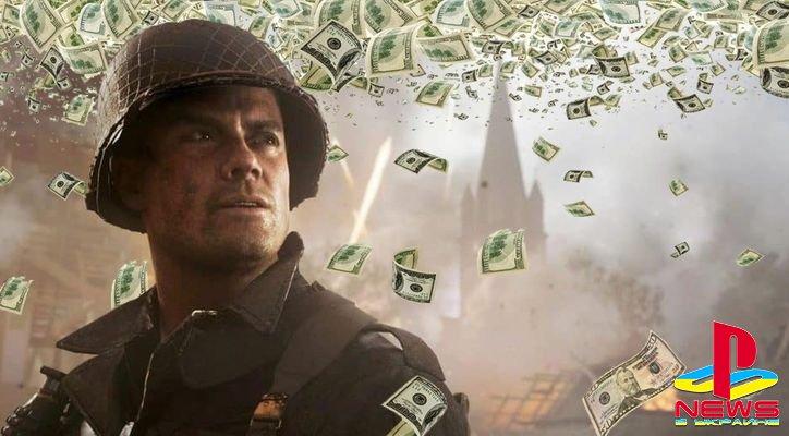Call Of Duty: WW2 заработала больше миллиарда долларов