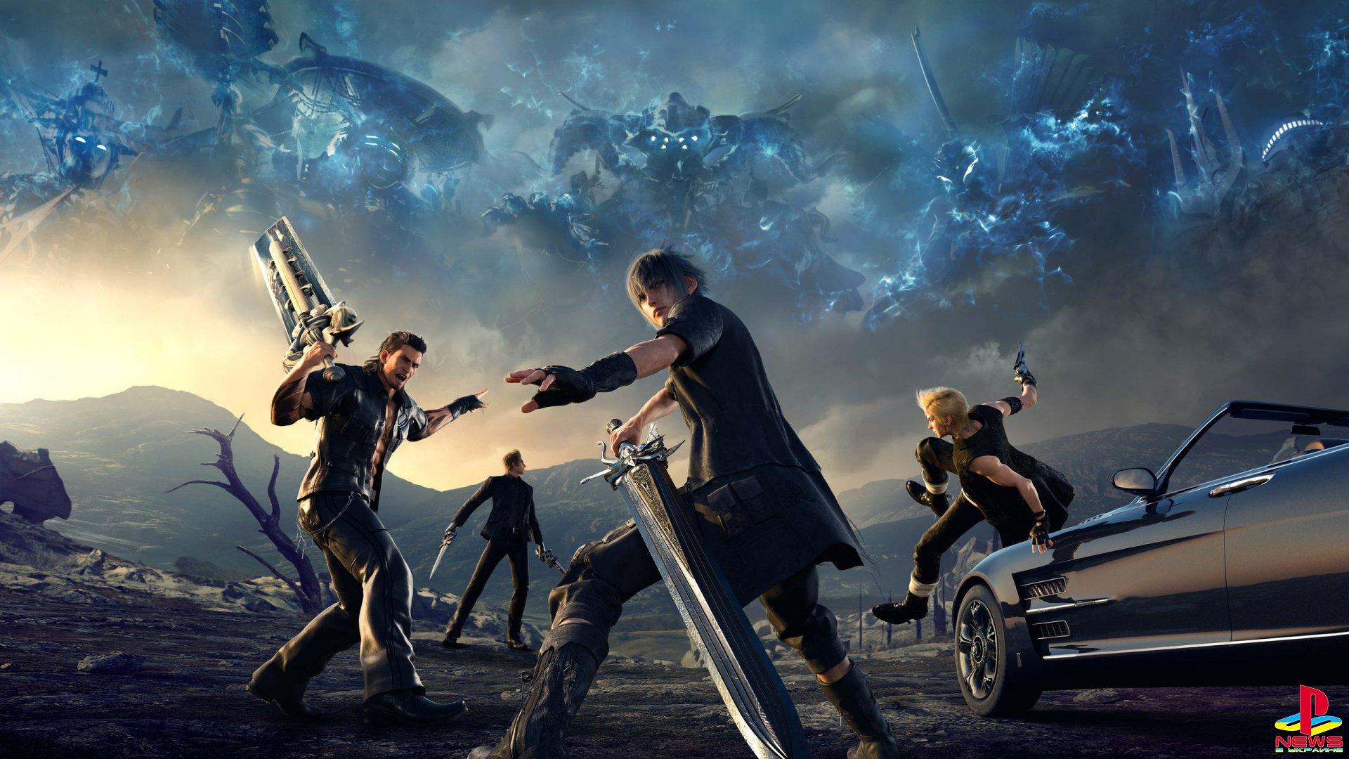 Final Fantasy XV в следующем году ждут совершенно новые игровые испытания
