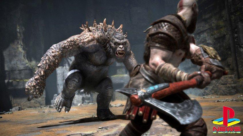 Game Informer рассказал о боевой системе в God of War