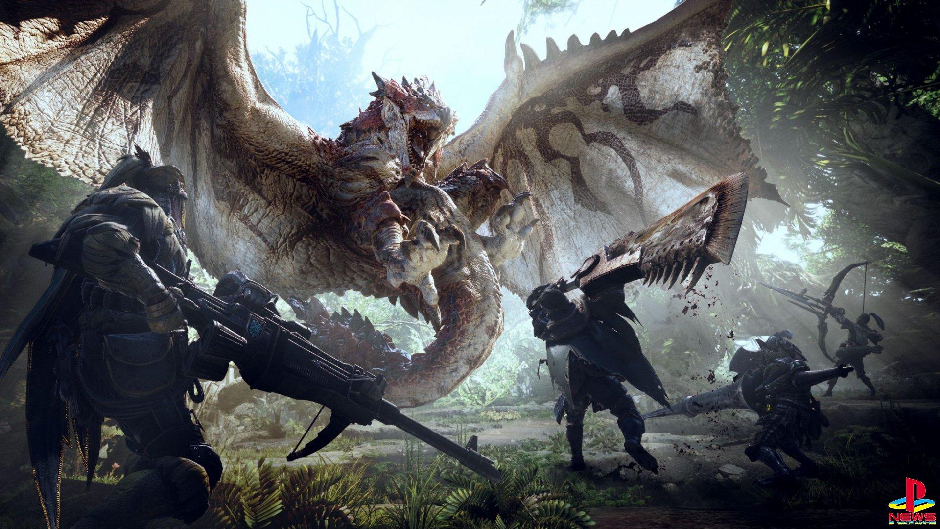 Первая оценка Monster Hunter World