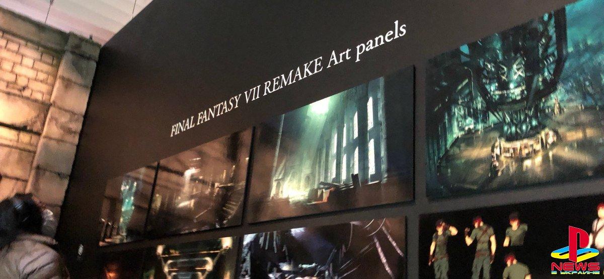 В сеть утекли концепт-арты Final Fantasy VII: Remake