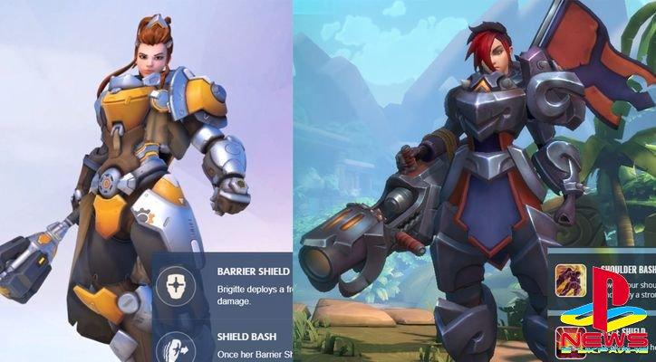 Разработчики Paladins обвинили Overwatch в плагиате