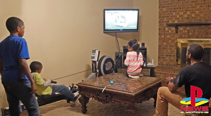 Блогер заставил детей вырабатывать электричество для приставки