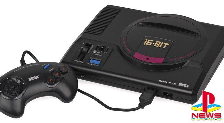 Sega анонсировала ретро-консоль Sega Genesis Mini
