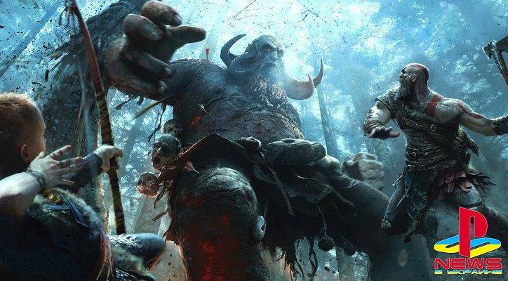 God of War стала самым быстро продаваемым эксклюзивом PS4