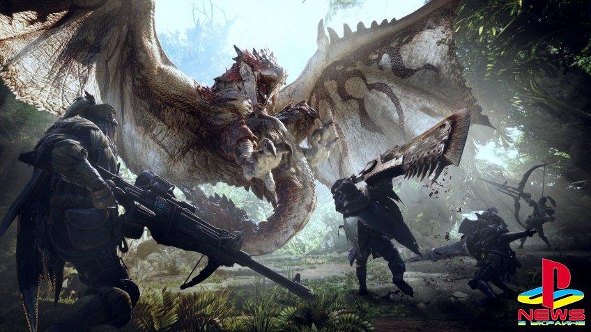 Monster Hunter: World станет примером качества для будущих игр Capcom