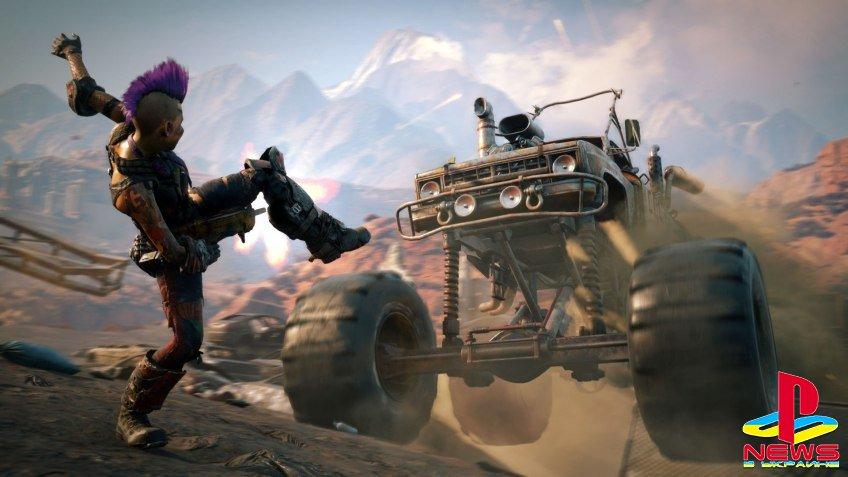 Rage 2 создается на движке Mad Max