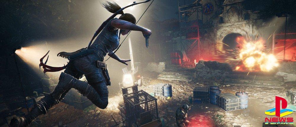 В Shadow of the Tomb Raider будут сложные и страшные головоломки