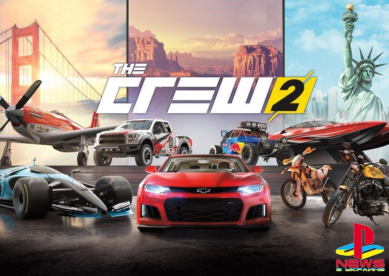 The Crew 2 заработала в России на PlayStation 4
