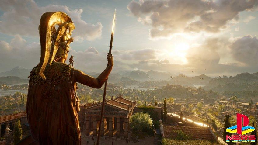 Ubisoft: Assassin's Creed Odyssey - настоящая ролевая игра