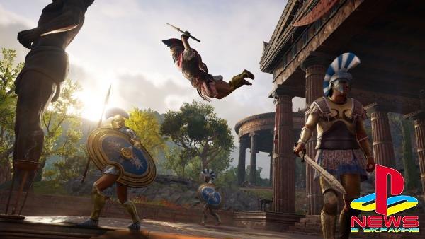 Мирные жители в Assassin's Creed Odyssey могут убить главного героя