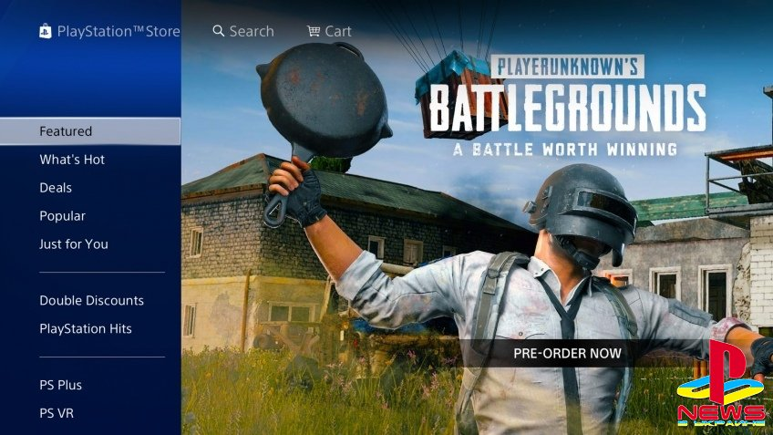 PUBG выйдет на PS4 сразу после The Game Awards