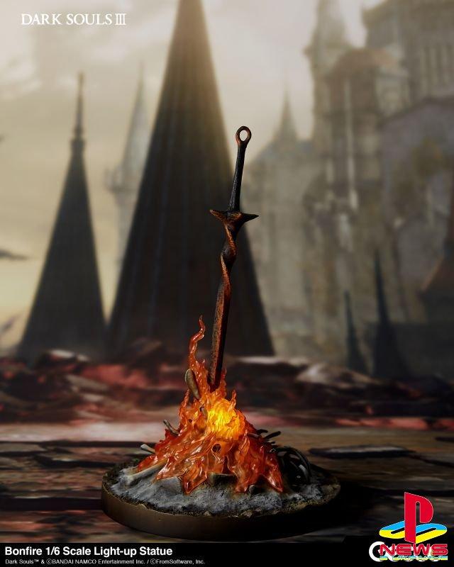 У костра из Dark Souls 3 появится своя фигурка