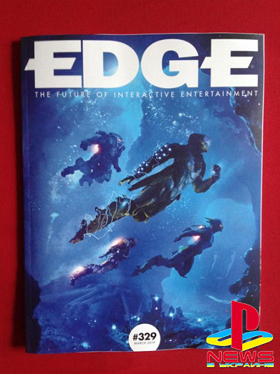 Anthem на обложке нового номера EDGE