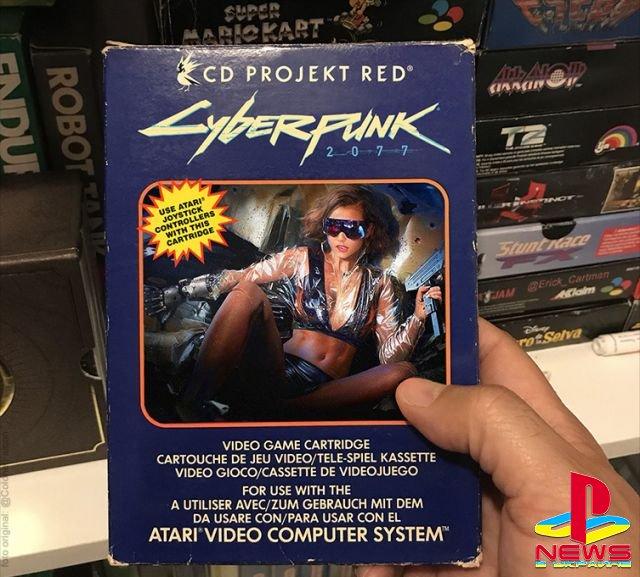 Назад в будущее: как выглядела бы коробка Cyberpunk 2077 для Atari