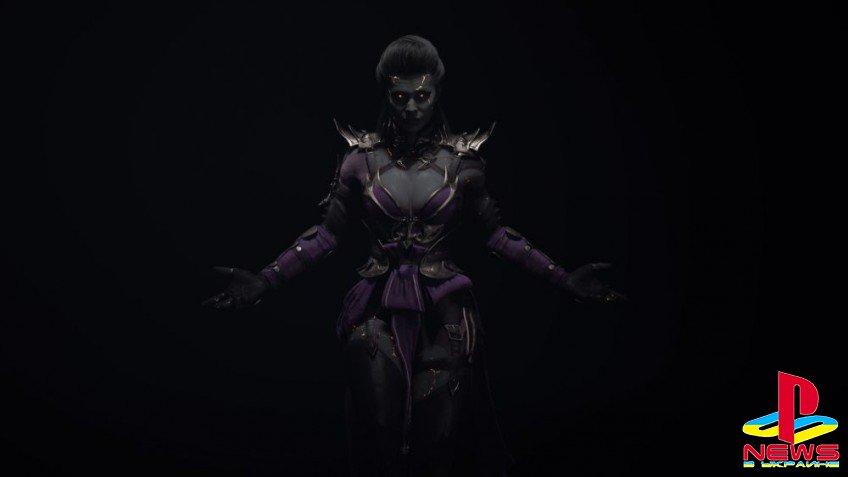 Эд Бун показал иллюстрацию Синдел в Mortal Kombat 11